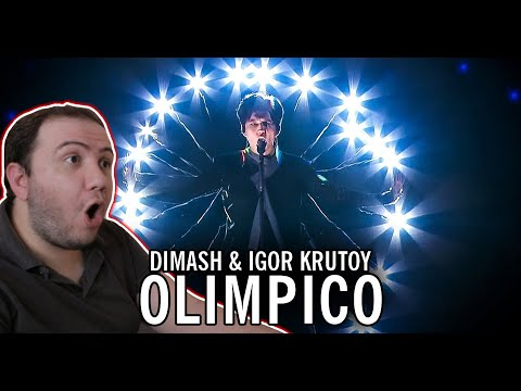 This is INTENSE! - Dimash Kudaibergen & Igor Krutoy - Olimpico