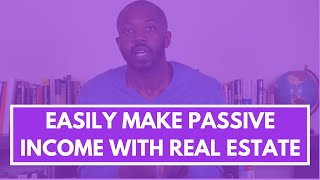 3 Ways to make passive income with real estate with $20k or less