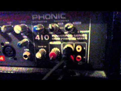 sound system/PA system/recording device