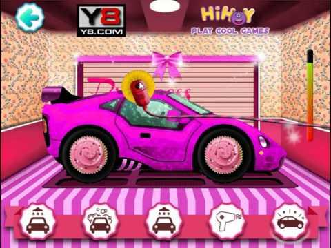 Мультик игра Автомойка: Мыть машину принцессы (Princess Car Wash)