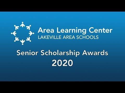 Lakeville Area Learning Center Senior Scholarship Awards 2020