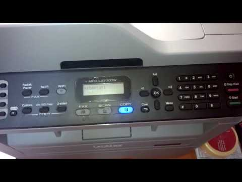 Brother MFC-L2700DW tonner reset