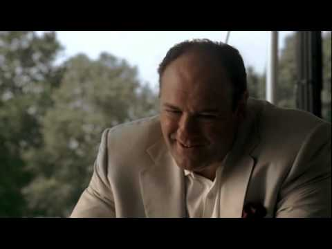 The Sopranos - Tony Meets With Carmine Lupertazzi Jr - YouTube