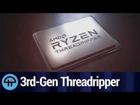 AMD Announces 3rd Generation of Threadripper