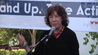 Lily Tomlin speaks at Progressive Democrats of America: (PDA)