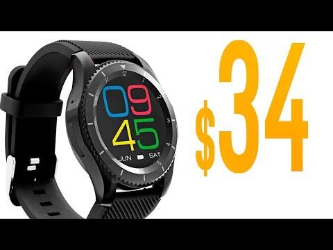 Senbono G8 Smartwatch REVIEW // Best $34 Smartwatch!