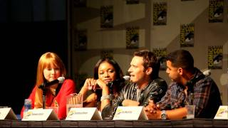 Castle Panel, Comic-Con 2010 - Embarassing moments on set