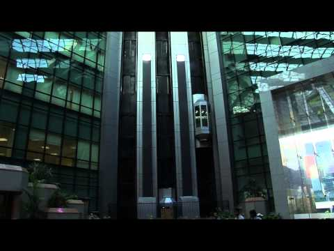 True Color LED Ticker at NSE Mumbai, India by Xtreme Media