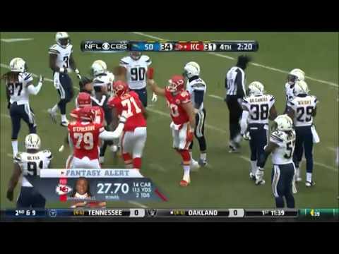 AFC WEST DIVSION GAME HIGHLIGHTS Part 2