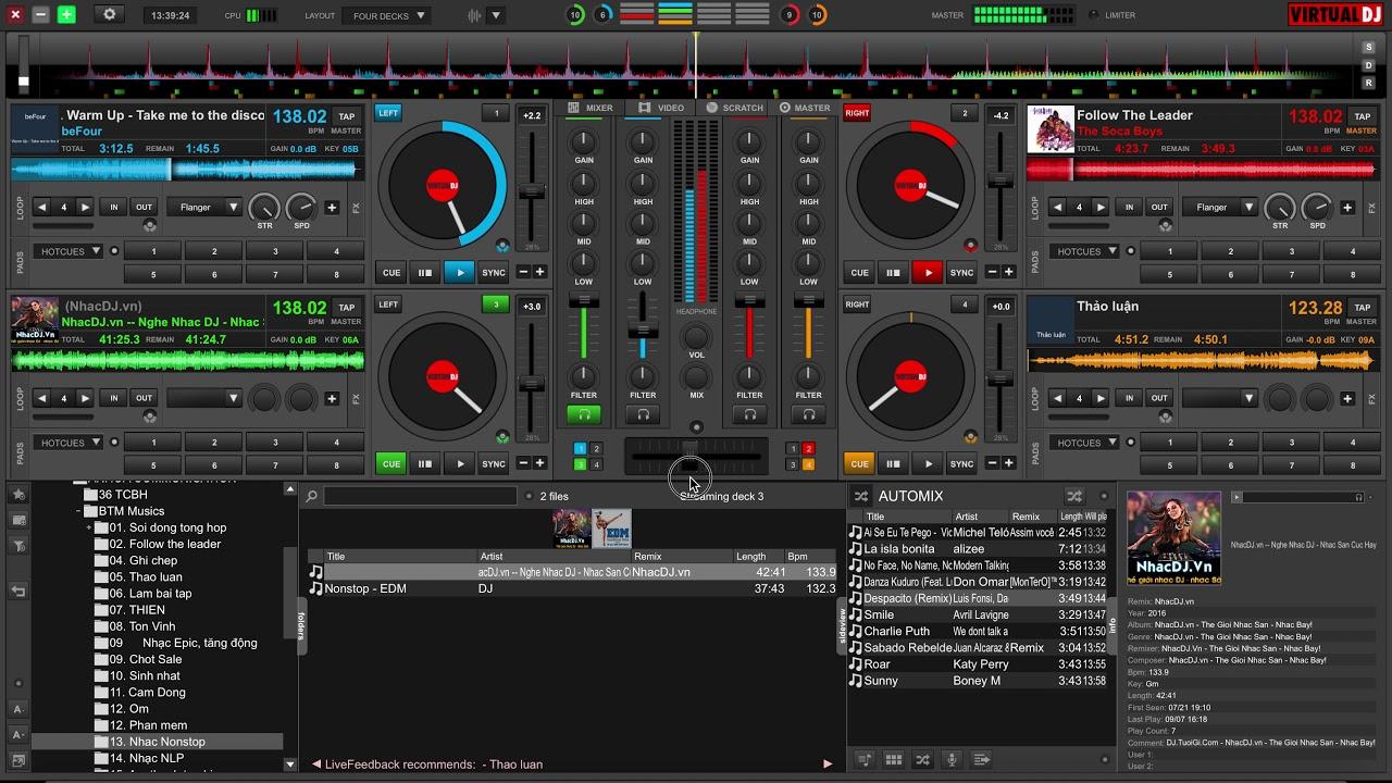 #2 Hướng dẫn sử dụng phần mềm chơi nhạc Virtual DJ 8 nâng cao