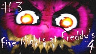 Five Nights at Freddy's 4 #3 Kuinka kauan sydameni kestaa...?