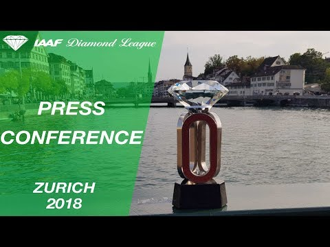 Zurich 2018 Press Conference - IAAF Diamond League