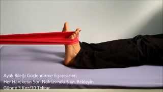 Ayak Bileği Egzersizleri Kuantum-Fizik Tedavi Merkezi Video