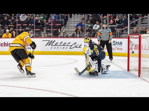 Hockey Highlights – Tech vs. Michigan – 2018 GLI Semifinal
