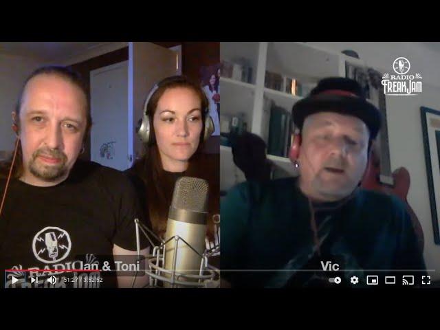 Radio FreakJam Episode 69 - Co-host Vic Doyle