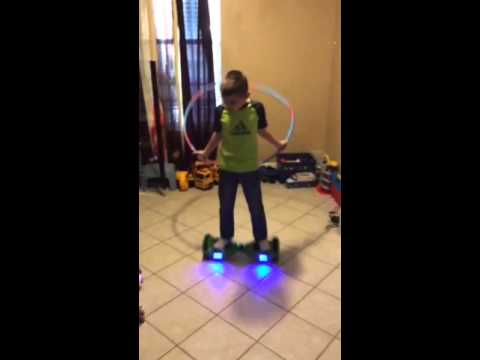 Hoverboard smart balance wheels hula hoop
