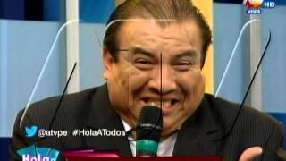 HOLA A TODOS: Manolo Rojas realiza sus imitaciones en Hola a Todos