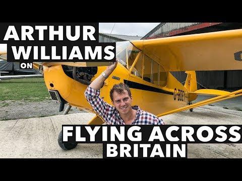 Arthur Williams on Flying Across Britain