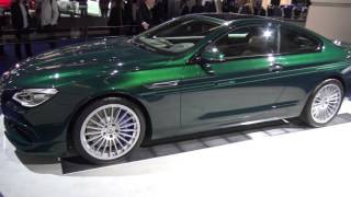 [4k]  BMW Alpina B6 BiTurbo Edition 50 all soldout already at Frankfurt 2015