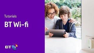 كيفية الاتصال BT نقطة اتصال Wi-Fi | BT Wi-Fi