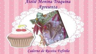 Caderno de Receita Fofinho – Prof Janaina U Alves