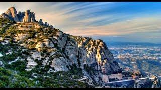 Catalonia 2012. Part2. Montserrat Monastery. Barcelona