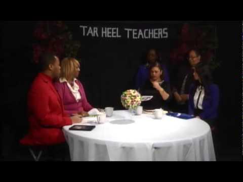 Tar Heel Teachers (Educational Panel Talk Show) - February 2015 Episode