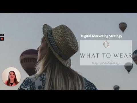 Digital Marketing Strategy - RMIT - Maria Oanca