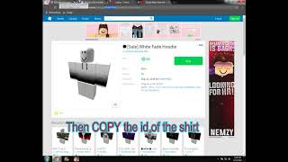 HOW TO STEAL ROBLOX PANTS OR SHIRT TEMPLATE ROBLOX