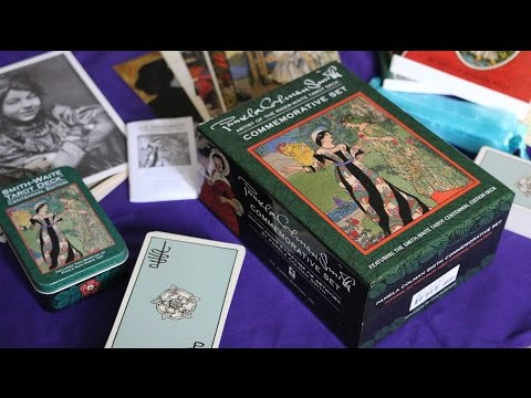 Rider Waite Smith Commemorative and Centennial Tin Unboxing