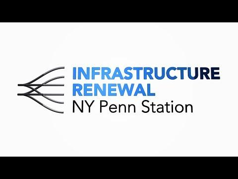 Amtrak's Infrastructure Renewal at New York's Penn Station