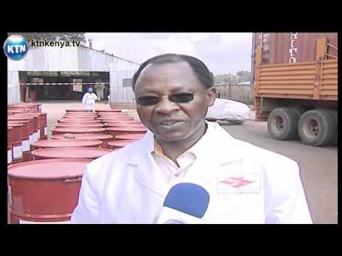 Kenya exports toxic waste to UK