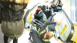 CRAZY AIRPORT FAIL!!