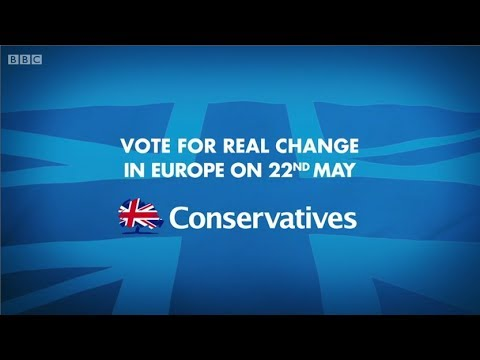 Conservative Party - Party Election Broadcasts for the European Parliament 2014