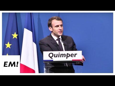 Meeting à Quimper du 16 Janvier   Emmanuel Macron