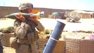 ONE MAN 120MM MORTAR TEAM IN AFGHANISTAN