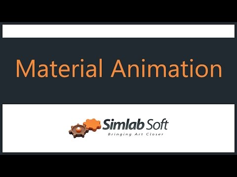 Material Animation in SimLab Composer 6