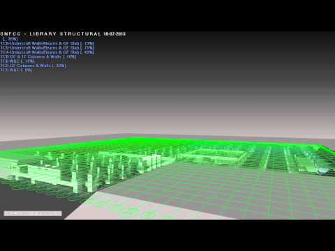 SNFCC MOVIE from Stavros Niarchos Foundation / EB/ARCHITECTS - BIM Modeling