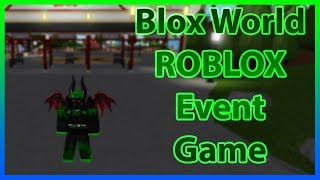 Blox World | Roblox LiveOps / Developer Events | This Week on Roblox Event
