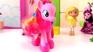 Мультики для девочек: обувь для Монстр Хай и Пинки Пай