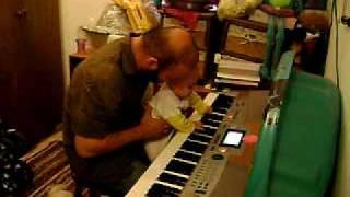 zohar playing piano.AVI