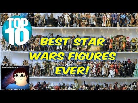 """TOP 10 BEST Star Wars 3.75"""" Action Figures!"""