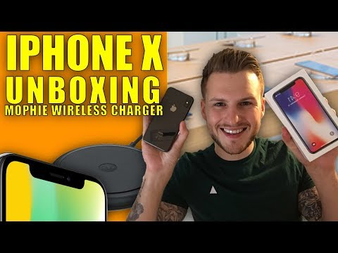 IPHONE X UNBOXING / REVIEW - LAUNCH DAY FIRST IMPRESSIONS - UK