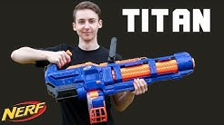 Nerf Titan - Unboxing Review & Test | MagicBiber [deutsch]