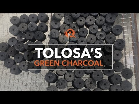 Tolosa's green charcoal