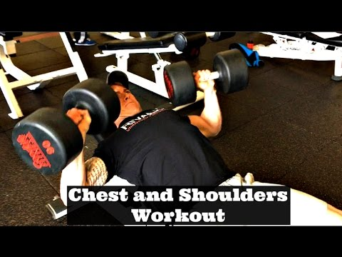 Chest and Shoulders Workout - 2 Weeks Out CBBF Nationals