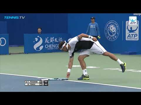 Highlights: Tomic Saves 4 M.P., Returns To Winners' Circle In Chengdu 2018