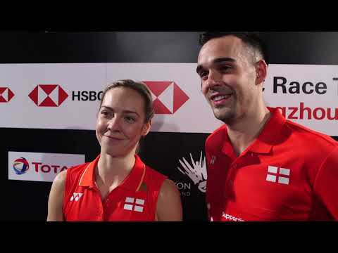 Gabby And Chris Adcock Safely Through To Second Round Of The 2019 YONEX All England