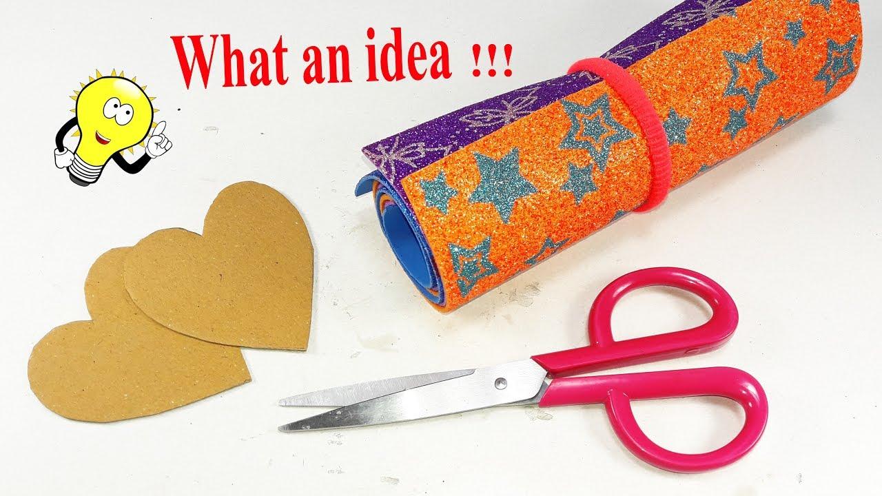 Diy Decorating Idea With Cardboard Diy Arts And Crafts Best Craft Idea Home Decor Ideas