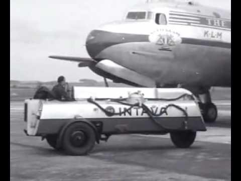 Eerste KLM-vlucht Amsterdam - New York (1946)